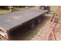 Ifor williams 14x6.5 ft dropside trailer