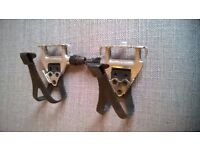 Wellgo Lu961 Alloy Road Pedals With Clips