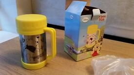 Winnie the Pooh vacuum/thermal mug- NEVER been used!! Includes box and packaging. Genuine product