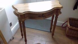 Pine Hall Table £20