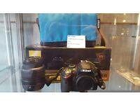 Nikon d3200 digital camera boxed