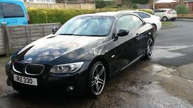 BMW 330d M Sport Plus Convertible , BMW Warranty, 330 cherished plate included
