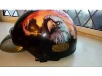 AGV harley style helmet