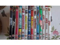DVDs classic films, comedys, stand up - bulk job lot car boot