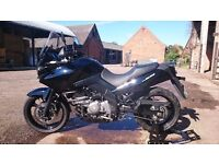 Great, well looked after Suzuki DL650 in a very good condition.