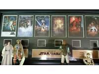 Star Wars history film cells
