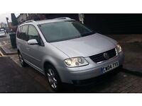VOLKSWAGEN TOURAN 2.0 TDI AUTOMATIC DIESEL 7 SEATER VERY GOOD CONDITION DRIVES SUPERB (CAR)