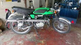 Classic Suzuki T125 stingers x3