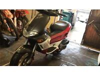 Gilera runner 50 with a 180 engine