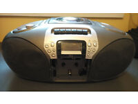 Hitachi CX55 Cassette CD and Stereo Radio Player