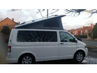 VW T5 Campervan with gas heater, water heater, oven and plenty of storage