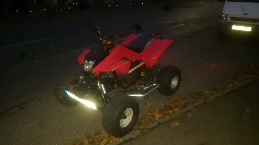 Quad road legal bashan/ Honda