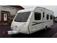 Swift colonsay 2007 fixed bed motor mover awning tyron bands extra's