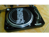 NuMark TT 100 Turntable and DM 950 DJ Mixer. DJ Equipment. DJ Deck and Mixer