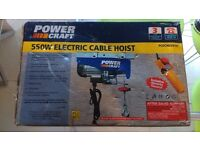 ELECTRIC CABLE HOIST - 550W - 250KG LIFTING - BRAND NEW
