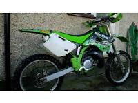 kx 125 (not cr yz rm ktm