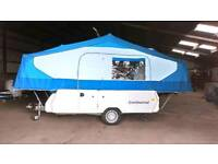 WANTED GOBUR/ESTEREL/RAPIDO FOLDING CARAVANS/PENNINE/ CONWAY FOLDING CAMPERS