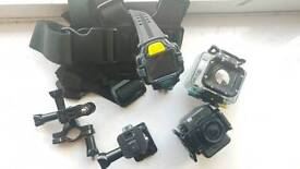 Ee action camera plus extras