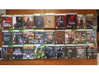 Xbox 360 Elite 250GB Console with official Wireless Controller and 27 Games