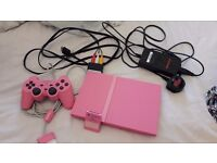 Pink slimline playstation 2