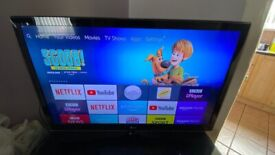 LG TV - 42 inch full HD 1080p. Model: 42lv450u. In perfectly working condition