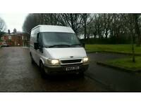 2005 Ford Transit 2.0 diesel 5 speed hpi clear 11 months mot runs and drives well mwb