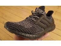 New Adidas Ultra Boost 3.0 Black/Dark Grey in Hand UK 10.5 US 11 EU45