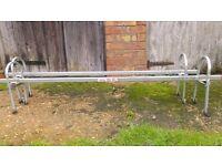 Paddy Hopkirk Heavy Duty Roof Bars for gutter (Land Rover, Van)