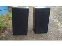 Technics speakers used working size 500x260x200