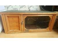 Rabbit or Guinea Hutch & Starter Pack