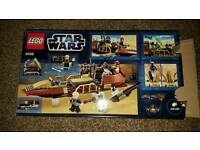 LEGO STAR WARS, DESERT SKIFF, 9496, BOBA FETT, DISCONTINUED VERY GOOD CONDTION