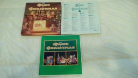 THE MAGIC OF CHRISTMAS-READERS DIGEST-1988-6 X LP'S-VINYL BOX SET-EX