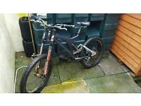 Specialized big hit downhill mountain bike