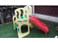 little tykes hide & seek slide great condition