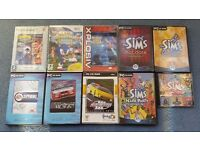 Games, Crash Bandicoot, Superstars Tennis, PC Games, Includes the Cases,Contact me,Cheap all for £10