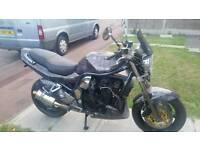 Suzuki bandit gsf 1200 my px swap
