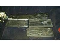 Keyboard each £2 only ( total 5 )