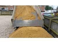Aggregates; sand, ballast, hard-core, topsoil, stones