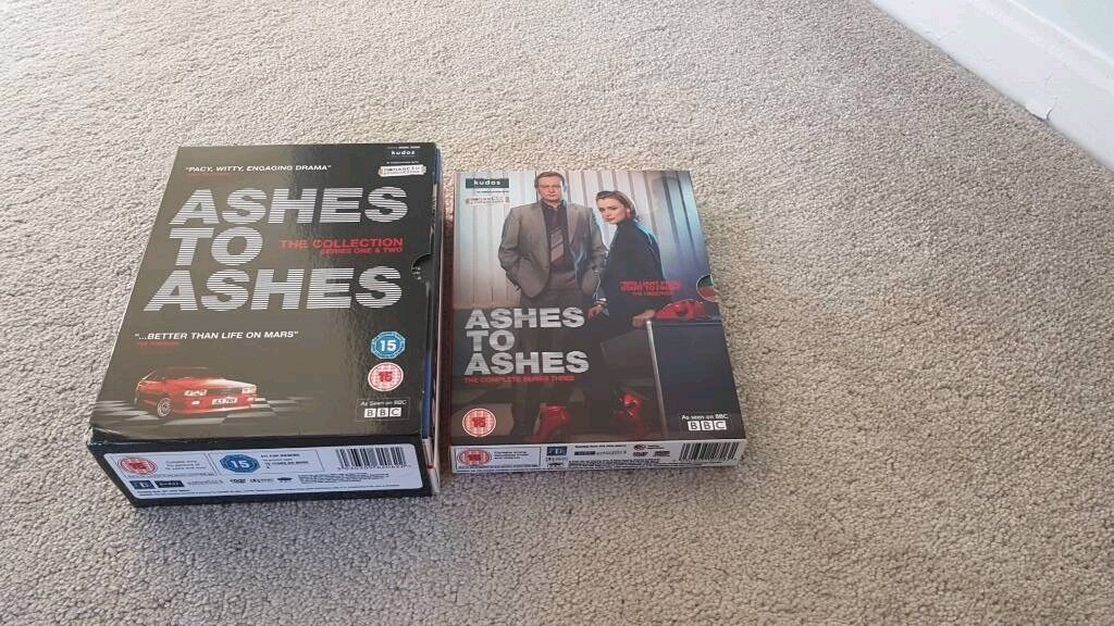 Ashes to Ashes - All three seasons on DVD (rare) | in Nottingham,  Nottinghamshire | Gumtree