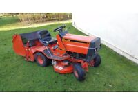 Ride on mower Westwood plus sweeper/collector 12 hp briggs motor all in good working order
