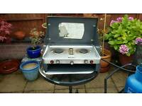 Gelet 2 ring gas cooker with grill