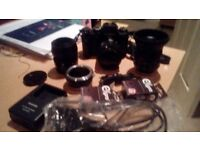 FUJI XT1 WITH 16-50 KIT LENS SWAP FOR CANON 5D MK2 AND LENS OR NIKON D700