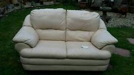 2 X 2 seater Land of Leather Settees