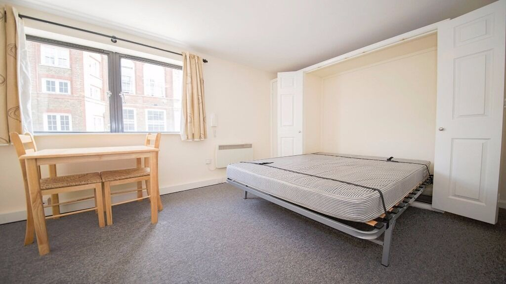 COSY STUDIO FLAT!! INC WATER AND ELEC!! FURNISHED!! CONCIERGE SERVICE!! HOLLOWAY ROAD, ISLINGTON, N7