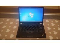 Lenovo Thinkpad T420 laptop Intel Core i5-2nd gen CPU 320gb hd 6gb ram high res 1600x900 screen