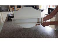 Towel rail and Shelf storage unit 40cm x 50cm x 20cm . New! £12.50