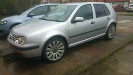 VW volkeswagon Golf 1.9 sdi diesel silver low insurance and economical