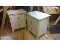 2 x Ikea Hemnes bedside tables NEW