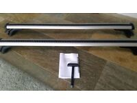 Genuine Audi A6 roof bars - Current model - boxed