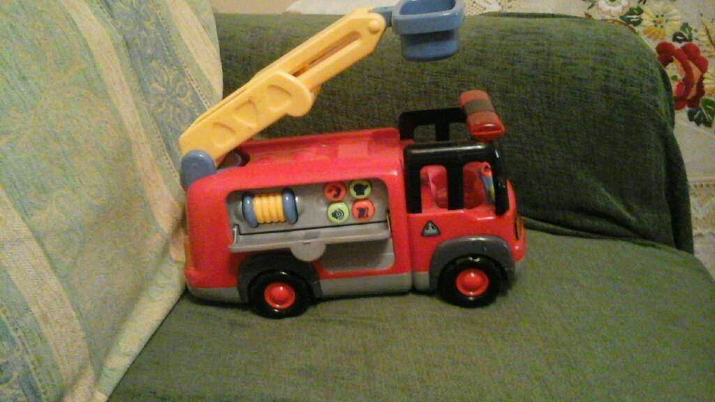 Toy fire engine with sounds, Early Learning Centre